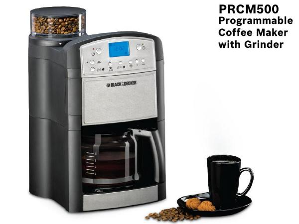 Black & Decker PRCM500-B5 Coffee Maker With Grinder 220 volts 50 Hz NOT FOR USA 220 Vo