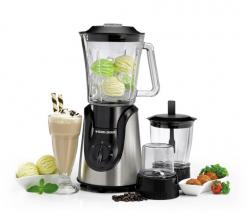 Black & Decker BX600G-B5 600W Glass Blender with Grinder and Mincer Chopper – White and Black 220 volst 50 Hz NOT FOR USA