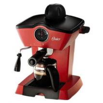 Oster BVSTEM4188 Red Steam Espresso Cappuccino Maker (Not FOR USA), 220V, Red