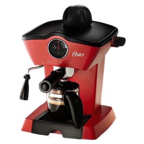 Oster BVSTEM4188 Red Steam Espresso Cappuccino Maker (Not FOR USA), 220V, Red 220 Volt