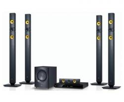 LG DH7530TW 1200 Watts Home theater with Wireless Rear Speakers Region Free 110 - 220 240 volts