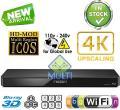 PANASONIC DMP-BDT360 2K/4K Multi Region All System Blu Ray Disc DVD Player - PAL/NTSC - 2D/3D - Wi-Fi - 100~240V 50/60Hz World-Wide Use