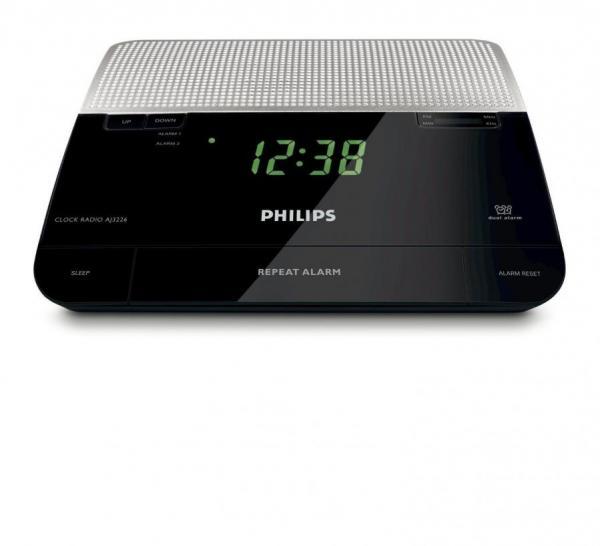 philips aj3226 fm digital tuning alarm clock radio 220 240 volts 220 volts appliances. Black Bedroom Furniture Sets. Home Design Ideas