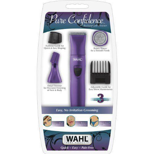 Wahl 9865 100 Delicate Definitions Body Kit Rechargeable Trimmer Shaver Detailer