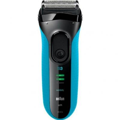 Braun Series 3040 Wet & Dry Electric Shaver 110 220 Volt Worldwide Use