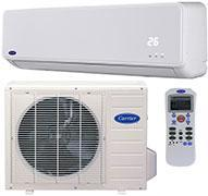 Carrier 42QT022713GE/ 38QT022713GE Wall Split Air Conditioner System 220-240 Volt/ 50 Hz/ 1ph