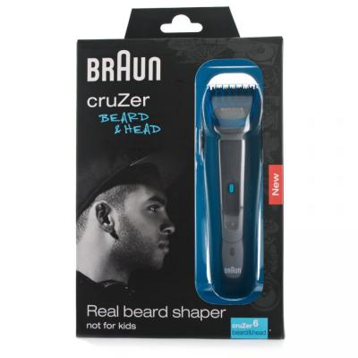 Details about  Braun Cruzer 5 Beard Trimmer 110 220 Volts for Worldwide Use