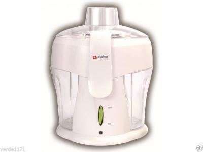 Alpina SF3000 220 Volt Juice Extractor 300 Watts White