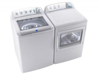 Frigidaire Electrolux Washer & Dryer Set MLTU16GGAWB & MKRN15GWAWB 220-240 Volts 50 Hertz
