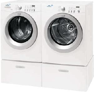 Frigidaire MLF125BZK & MDE675NZHS Washer Dryer Set 220-240 Volts 50 Hertz