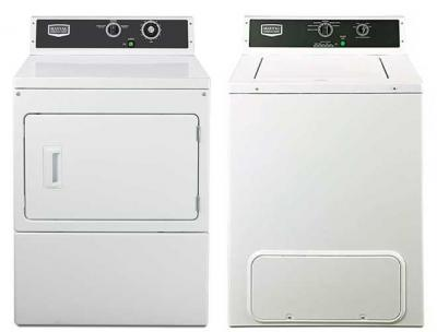 Maytag Commercial Washer & Dryer Set MVW18MNBGW & MDE18MNAGW 220-240 50 Hz
