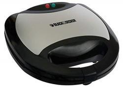 Black and Decker TS2060 Multiplate Interchangeable Sandwich Maker Grill, 220 to 240-volt
