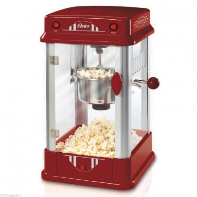 Oster NEW 220 Volt Popcorn Maker (NOT FOR USA) Old Fashioned Theater Style