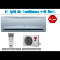 LG KAP-G18MHC 18000 BTU Split-Air Conditioner with Heat & Cool for 220 volts 50 hz NOT FOR USA
