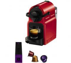 Krups NESPRESSO XN100540 Nespresso Inissia Coffee Machine - Ruby Red 220 VOLTS