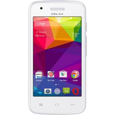 BLU Dash L D050U 4GB Dual-SIM Smartphone (Unlocked, WHITE)