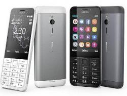 NOKIA 230 DUAL SIM DUAL BAND DARK SILVER GSM UNLOCKED
