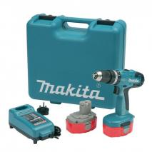 MAKITA 8391DWPE-TK 18V Combi Drill With 2x 1.3Ah Ni-Cad Batteries (+101 Pieces Set) 220 volts 50HZ NOT FOR USA