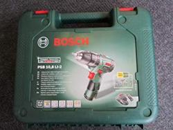 Bosch 603983972 PSB 10.8 LI-2 Cordless Lithium-Ion Hammer Drill Driver Featuring Syneon Chip (1 x 10.8 V Battery, 2.0 Ah) 220 VOLTS 50HZ NOT FOR USA