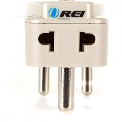 Grounded Universal 2 in 1 Plug Adapter Type D for India, Africa & more - High Quality - CE Certified - RoHS Compliant WP-D-GN