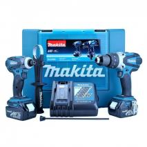 Makita DLX2005 18V Cordless Li-Ion Kit with 2 x 3Ah Batteries (2 Pieces) 220 VOLTS 50hz NOT FOR USA