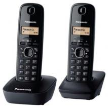 Panasonic KX-TG1612 2 Hand Set Cordless Phone DECT 110-220 volts