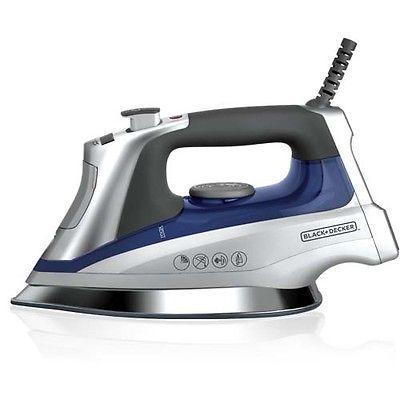 Black Decker D3031 2000-watt Steam/Dry Iron 220 Volts Export Only.