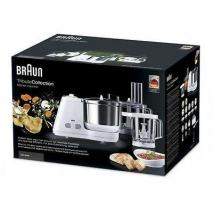Braun Food Processor W/Attachments KM3050 220 240 Volts Export Only.