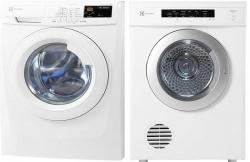 Electrolux EWF85743 and EDV7051 Electric Washer & Dryer Combo for 220 Volts 50Hz NOT FOR USA.