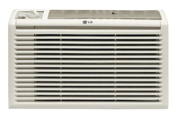 lg lw5016 btu window air conditioner 2 speeds 2 way air factory refurbished for usa