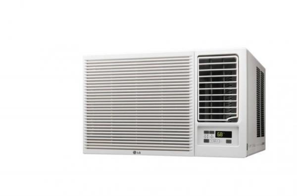 lg lw8016hr 8000 btu window air conditioner coooling heating factory refurbished sam. Black Bedroom Furniture Sets. Home Design Ideas