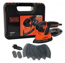 Black + Decker KA2500K-GB 120W Next Generation Mouse Sander with Kit Box and 9-Accessories 220 volts NOT FOR USA