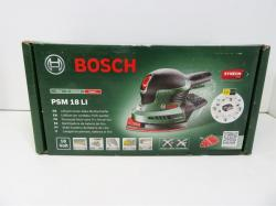 Bosch PSM18 LI Cordless Lithium-Ion Multi-Sander (1 x 18 V Battery, 2.0 Ah) 220 VOLTS NOT FOR USA SPECIAL ORDER