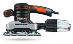 WORX WX642 270W 1/3 Sheet Finishing Sander 220 VOLTS NOT FOR USA SPECIAL ORDER