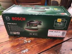 Bosch PSM10.8 LI Cordless Lithium-Ion Multi-Sander Featuring Syneon Chip (Baretool: Supplied without Battery/without Charger) 220 VOLTS NOT FOR USA