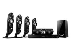 Panasonic SC-XH315 Bluetooth Multi Region Free 5.1-Channel Home Theater Speaker System w/ Free HDMI Cable for 110-240 Volt