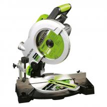 Evolution FURY3-B Multipurpose Compound Mitre Saw, 210 mm, 230 V NOT USA