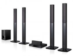LG LHD655 Region free dvd player with tower speaker 110-220 volts. NTSC-PAL