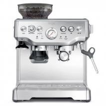 Sage by Heston BES870UK Blumenthal the Barista Express Coffee Machine and Grinder, 1700 Watt - Silver 220 VOLTS NOT FOR USA