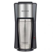 Black & Decker CM618SP Single-Serve Coffee Maker with 2 16-Ounce Travel Mug for 220 Volts