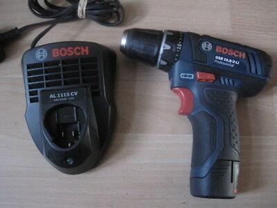Bosch GSR 10.8-2-LI Professional Cordless Drill Driver 10.8 V 220 volts NOT FOR USA