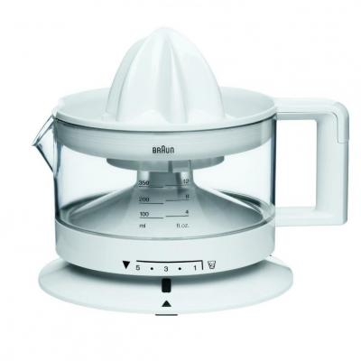 Braun CJ3000 Citrus Juicer 220 Volts For Export Use Only White