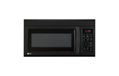 LG LMV1831SB 1.8 cu. ft. Over The Range Microwave, Smooth Black 110 VOLTS REFURBISHED (ONLY FOR USA)