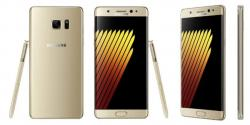Samsung Galaxy Note 7 Duos N9300 4G Dual SIM Phone (64GB, Gold) GSM UNLOCKED
