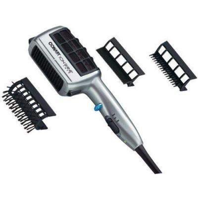 Conair SD6NP ION SHINE 1875W STYLER SILVER 2 HEAT/SPEED SETTINGS FOR 110-220 Volts