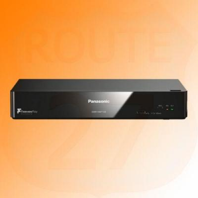 Panasonic DMR-HWT250EB 1TB HDD Recorder Catch Up 4K TV with Freeview Play WiFi 220 VOLTS
