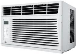 LG LW6016R 6,000 BTU Window Air Conditioner with Remote 110 volts FACTORY REFURBISHED
