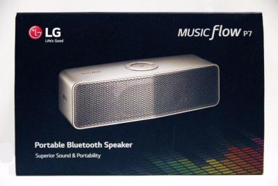 LG NP7550 20W 2.0ch P7 Music Flow Portable Speaker FACTORY REFURBISHED (FOR USA)