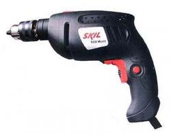 Skil 6002 handy hammer drill with a modern, comfortable design fot 220 volt