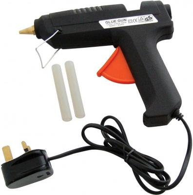 Am-Tech S1850 50w Glue Gun with GS Plus BS Plug 220 VOLTS NOT FOR USA